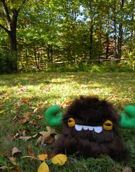 Autumn Monstroctopus by loveandasandwich