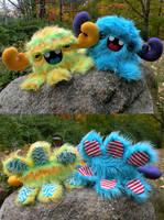 More Monstroctopi Customs by loveandasandwich