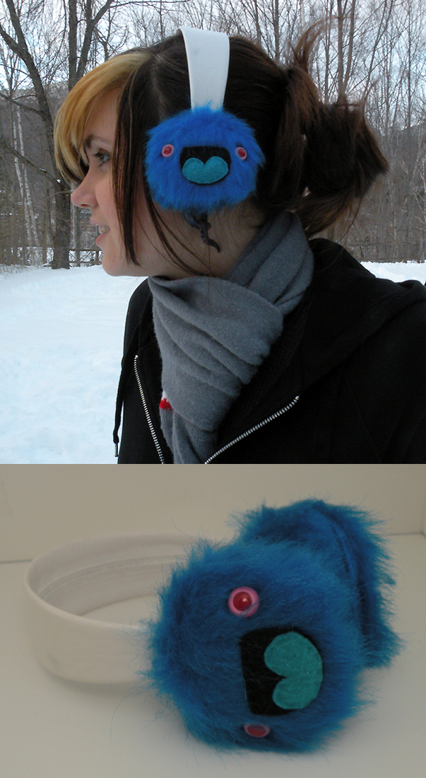 Monster Earmuffs by loveandasandwich