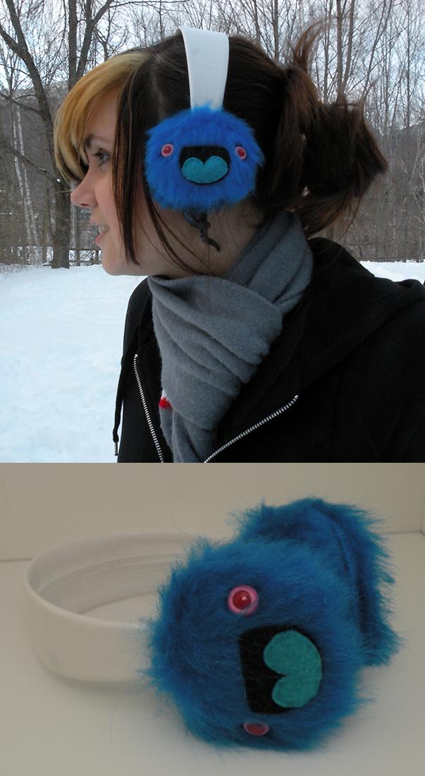Monster Earmuffs by loveandasandwich