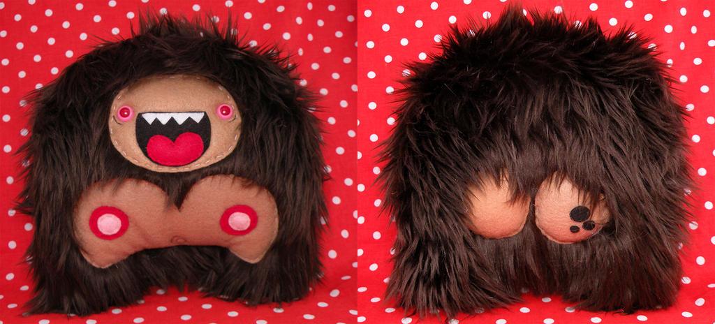 Freckle-Butted Sasquatch by loveandasandwich