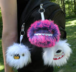 Keychain monsters