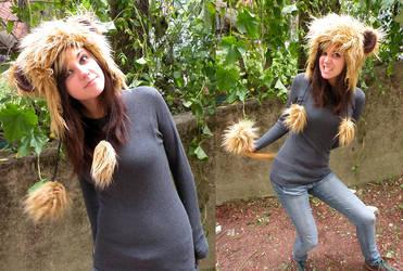 Lion Costume raaarrghh by loveandasandwich