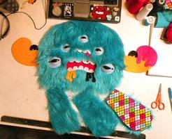 Monstrocto in progress by loveandasandwich