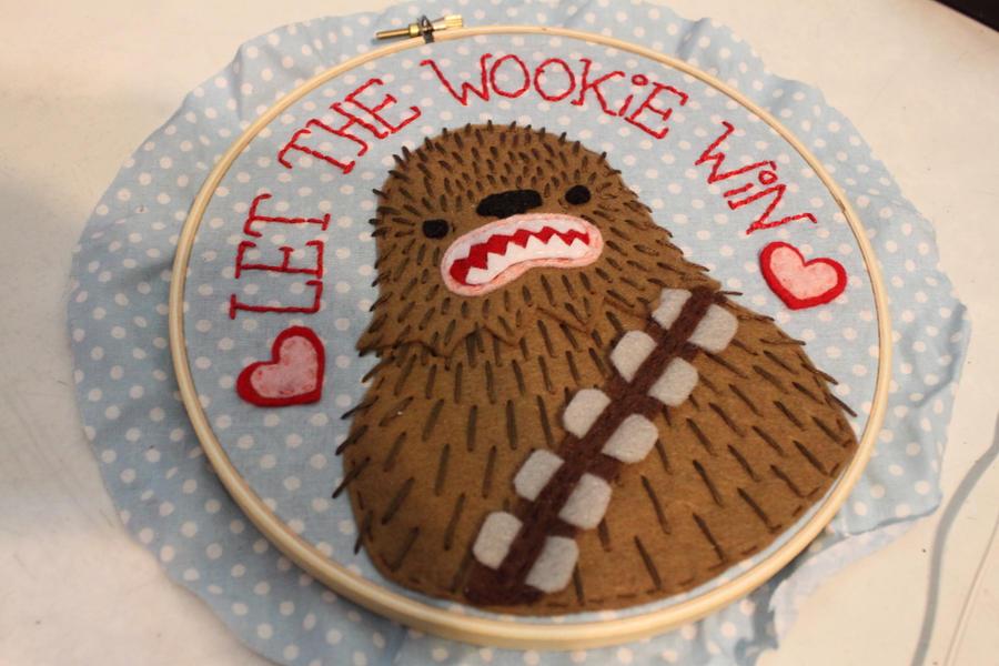 Let the Wookie win. by loveandasandwich