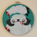 Whimpering Wampa Embroidery
