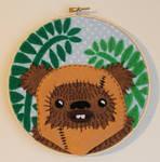 Ewok on Endor Embroidery