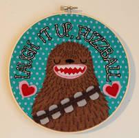 Laugh it up, Fuzzball by loveandasandwich