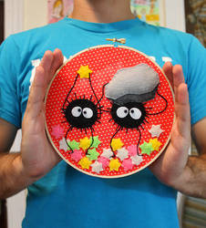 Soot Sprite Embroidery