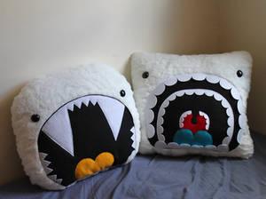 Giant Yeti Pillows