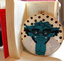 Beast Embroidery by loveandasandwich