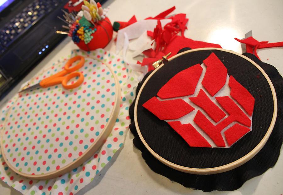 In Progress Transformers Hoops by loveandasandwich