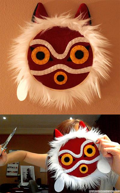 Mononoke Mask Hoop by loveandasandwich