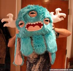 Big Custom Monstroctopus by loveandasandwich