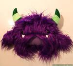 Custom purple monster