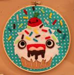 Monster Cupcake Hoop