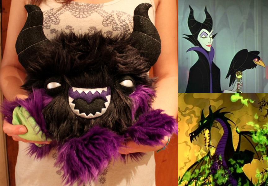 Maleficent Inspired Monstroctopus by loveandasandwich