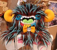 Drooling Bowtie Monstroctopus by loveandasandwich
