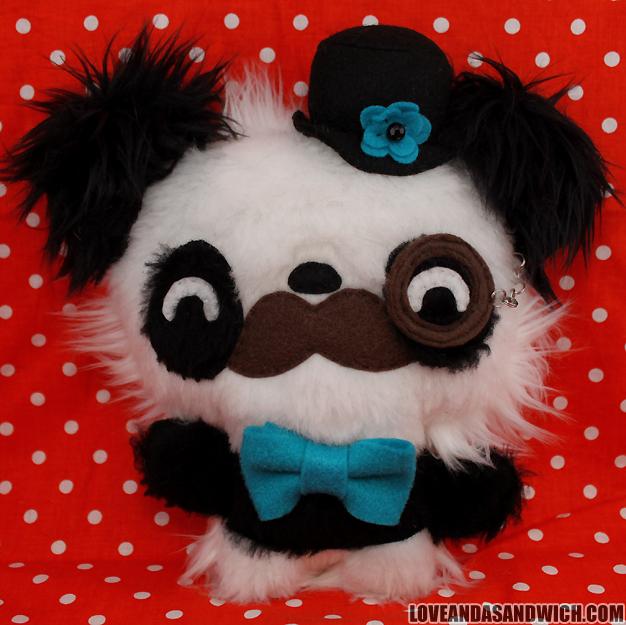 Gentleman Panda by loveandasandwich