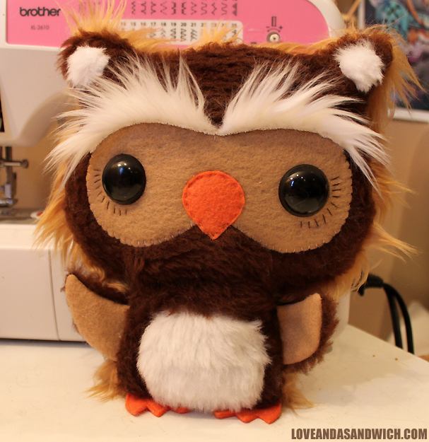 Custom Horned Owl by loveandasandwich