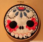 Muertos Skull Hoop