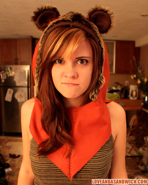 Ewok Hood by loveandasandwich