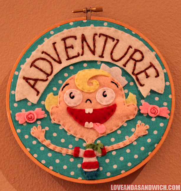 ADVENTURE- Flapjack Hoop by loveandasandwich