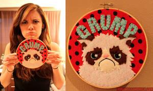 Grumpy Cat Hoop