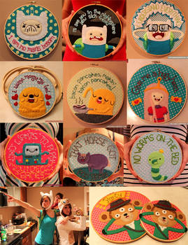 All my Adventure Time Hoops