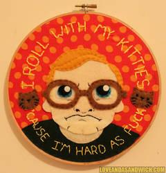 Bubbles Hoop- Hard as F*** by loveandasandwich