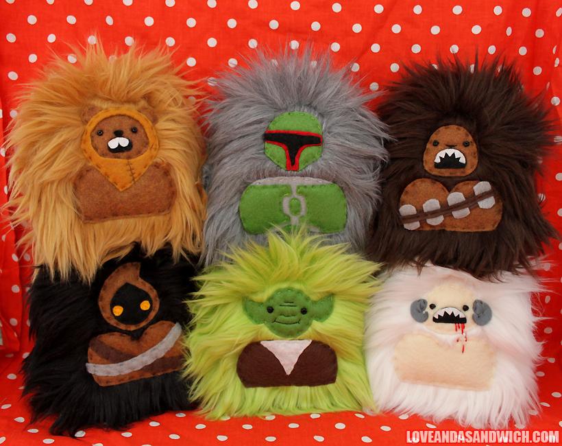 Star Wars Monsters by loveandasandwich