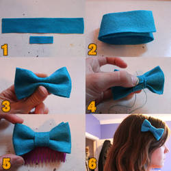 Hairbow/Bowtie How to