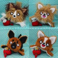 Custom Dog Loaves by loveandasandwich