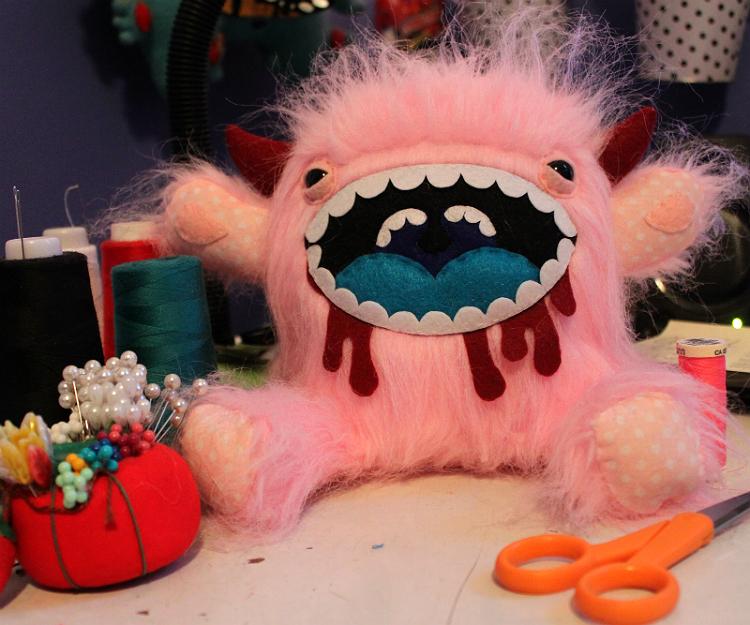 The Pink Predator by loveandasandwich