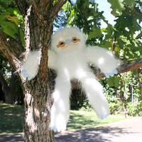 Albino Sloth by loveandasandwich