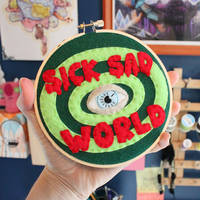 Sick, Sad World Hoop