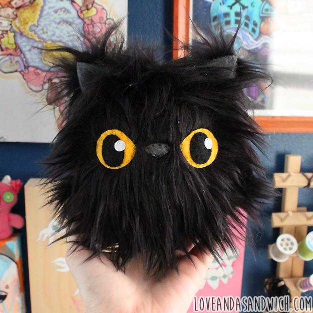 Moon-Eyed Cat Baby by loveandasandwich