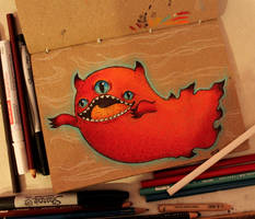 Demon Ghost by loveandasandwich
