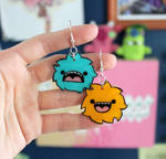 Mismatched Monster Earrings