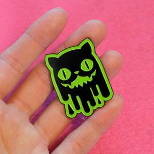 Slime Cat Enamel Pin
