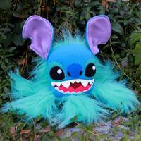 Stitch Monstroctopus by loveandasandwich