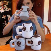 Coffee Mugs by loveandasandwich