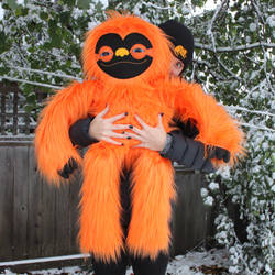 Giant Halloween Sloth