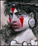 princess mononoke protrait