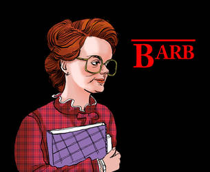 Barb from Stranger things by psmonkey