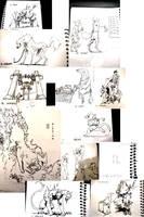 Inktober [6-16] by FEN-OSHI