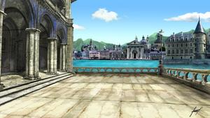 City of Ildrorea (background)