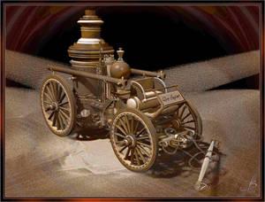 1890's Horse-Drawn Steam Fire Engine