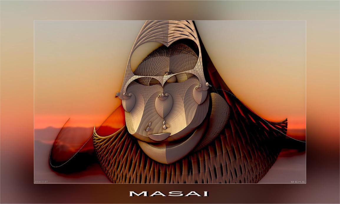 2014 11 07 Masai by fractalbeke