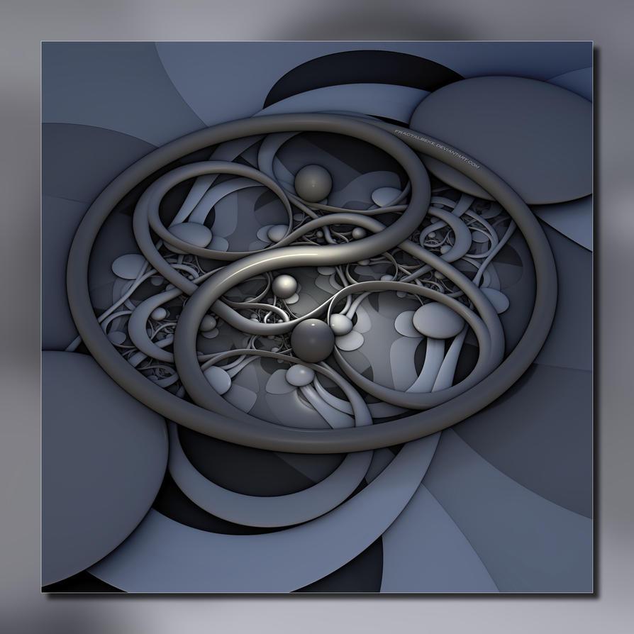 2014 11 17 Ying-Yang by fractalbeke